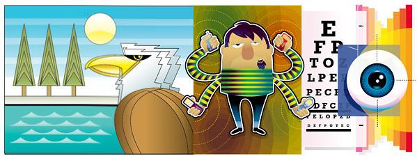 lovely illustration vector