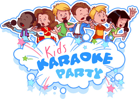 lovely kids children cartoon graphics vector set
