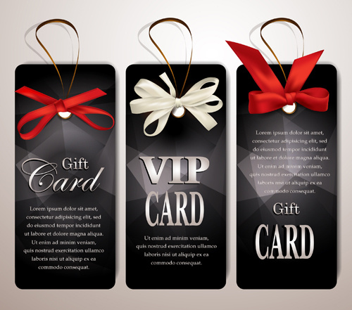 Luxury club cards design elements vector Free vector in Adobe ...