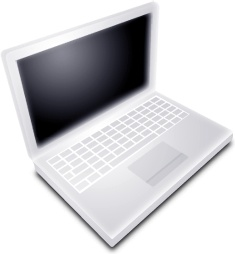 Mac Book White Off