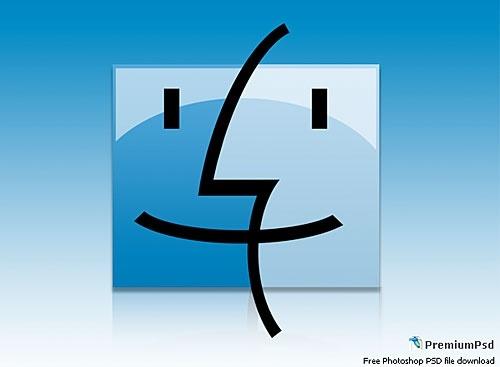 Mac Logo Design PSD