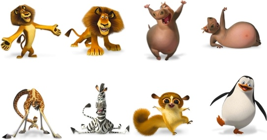 Madagascar Icons icons pack