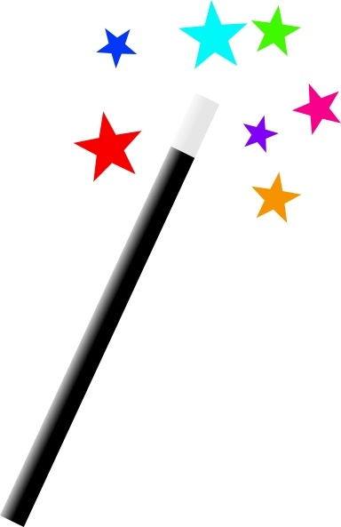 Image result for CLIPART magic wand