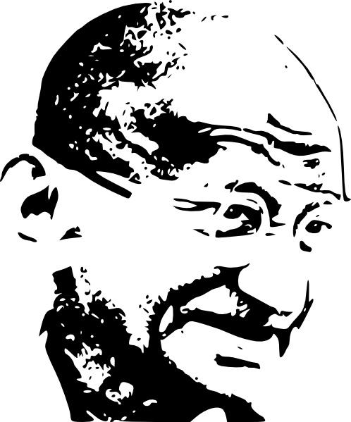 Pears Ghandi: Mahatma Gandhi Free Vector Download (4 Free Vector) For