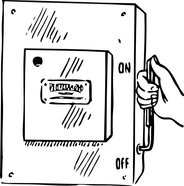 Main Switch Clip Art Free Vector In Open Office Drawing Svg Svg