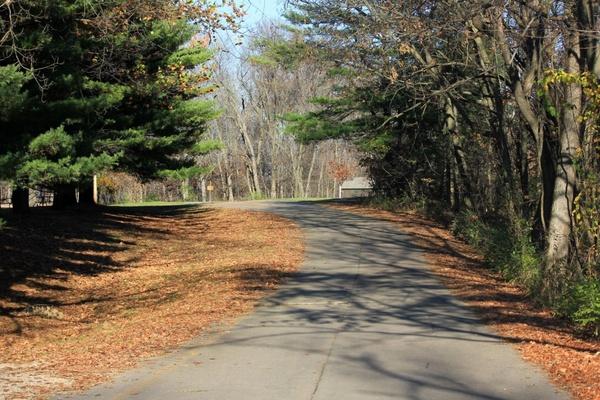 main trail at bellevue state park iowa