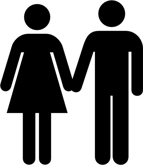 man and woman icon clip art free vector in open office man and woman clip art free men and women clip art borders