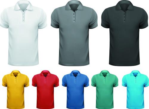 man t shirt creative design vector set