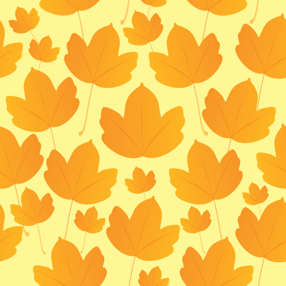 Maple Leaf Pattern Free Vector In Adobe Illustrator Ai Ai Interesting Maple Leaf Pattern