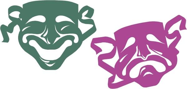 mardi gras masks free vector in encapsulated postscript eps eps