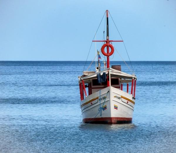 margarita island boat sea