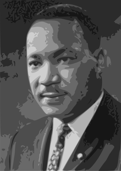 martin luther king jr clip art free vector in open office drawing