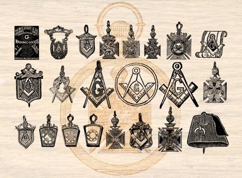 Masonic Brushes Vol. I