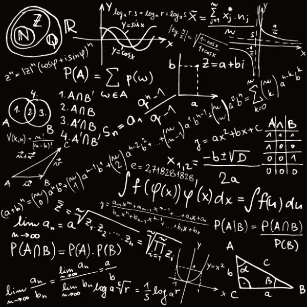 Mathematical Formula Handwritten Edition Vector Free Vector In