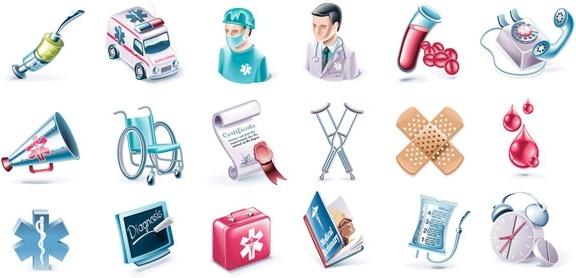 medical subjectdimensional icon vector