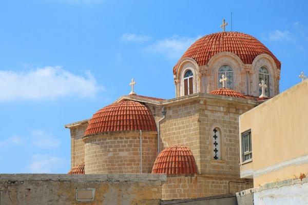 mediterranean church