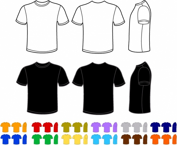 vector t shirt free vector download 1 338 free vector