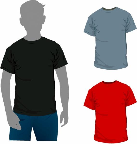 Men t-shirt Free vector in Adobe Illustrator ai ( .AI ...