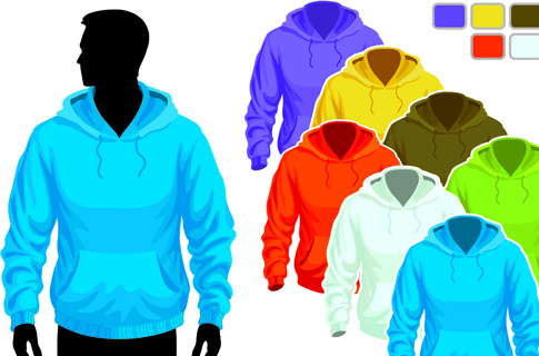 mens and womens clothing design elements
