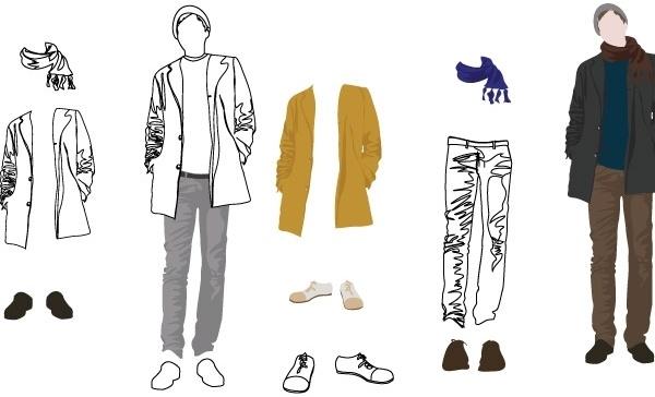 e55d478a Men's Fashion Vector Art Free vector in Adobe Illustrator ai ( .ai ...