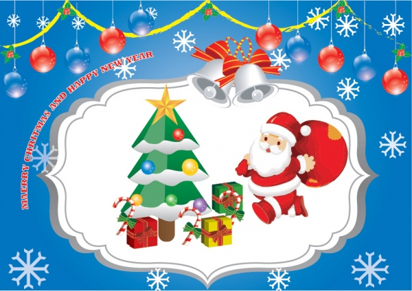 Merry christmas card free vector in adobe illustrator ai merry christmas card free vector 131mb m4hsunfo