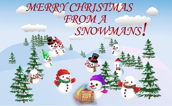 merry christmas vector free vector in adobe illustrator ai ai