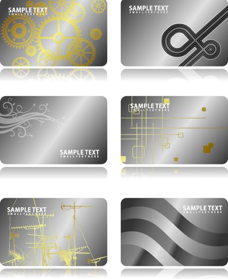 metal business card template