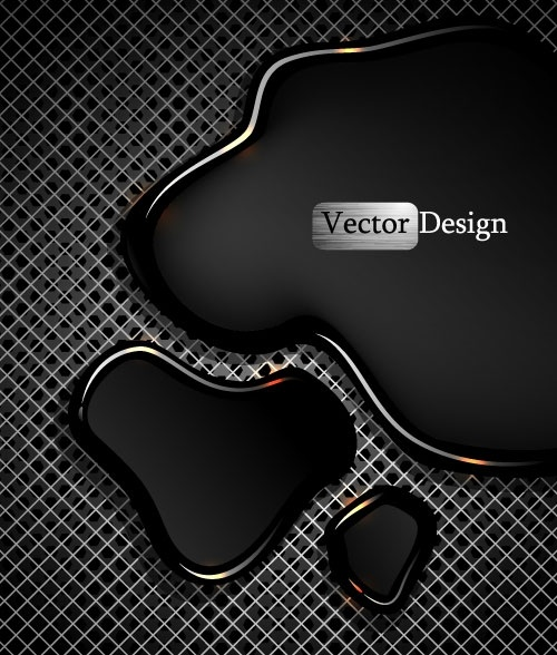 metal grid background 03 vector
