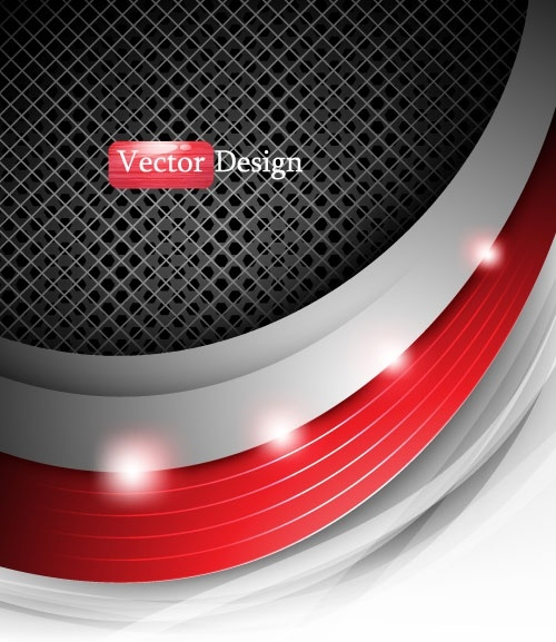 metal grid background 04 vector
