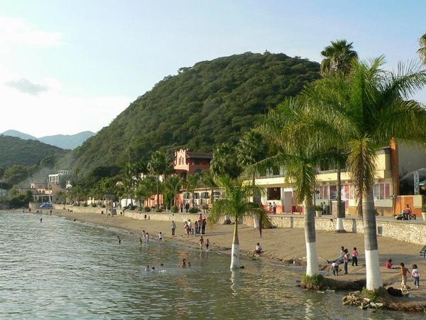 mexico lake chapala beach