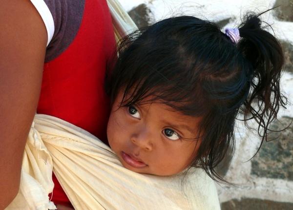 mexico the little girl portrait