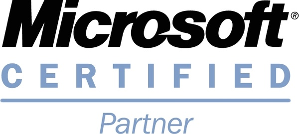 microsoft certified partner free vector 3518kb