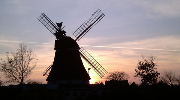 mill afterglow windmill