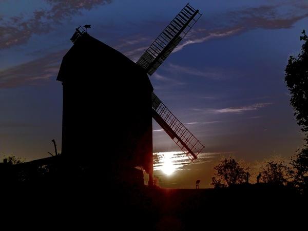 mill windmill sky