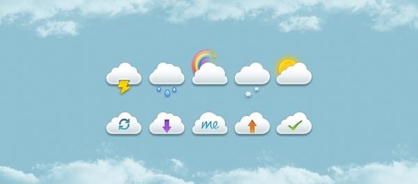 Mini Clouds Set