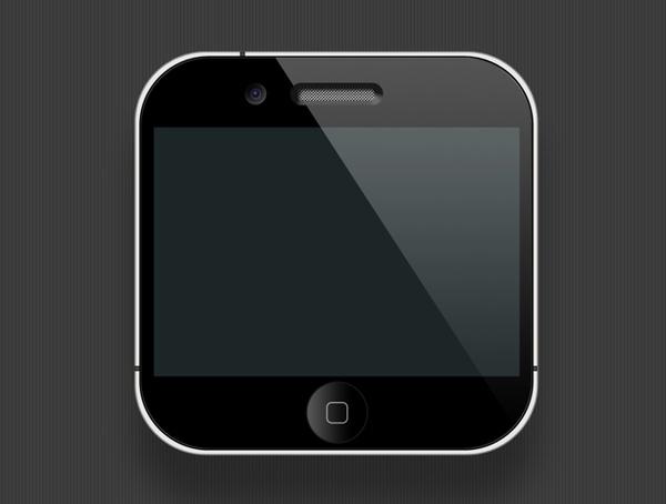 Mini iPhone PSD