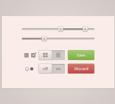 Mini User Interface Kit PSD
