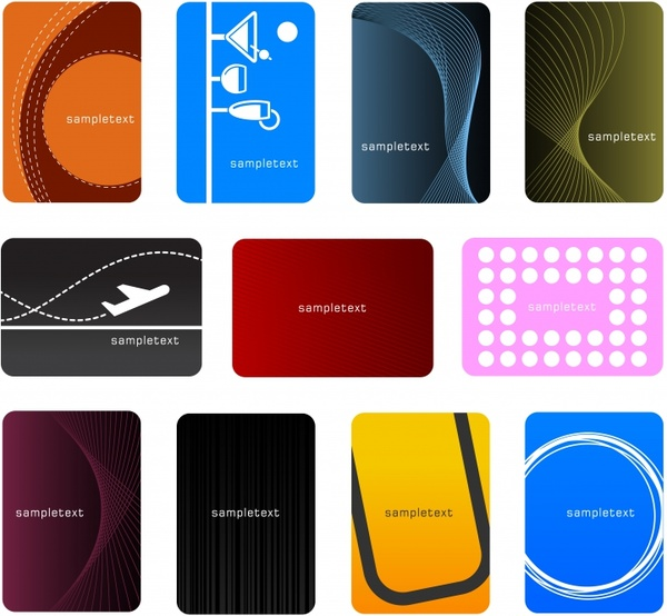 id card background templates free vector download 68884