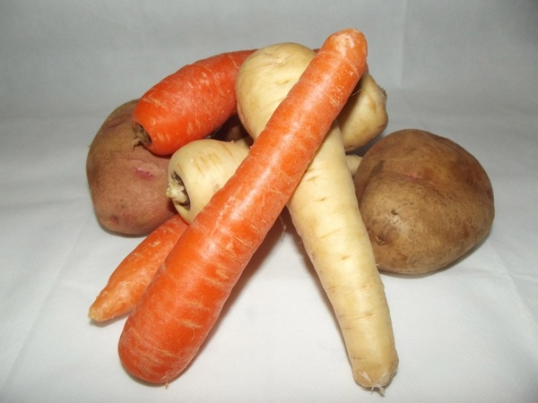 mixed whole vegetables