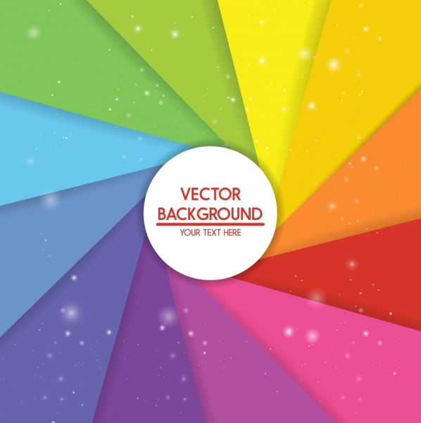 modern abstract background sparkling colorful twisted layout