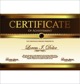 Modern certificate design free vector download (11,407 ...