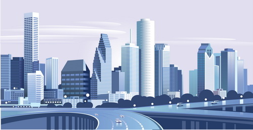 modern city building design vector free vector in encapsulated