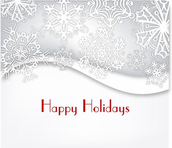 modern holiday card design free vector in adobe illustrator ai ai