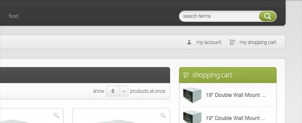 Modern Minimalist E-Commerce Template
