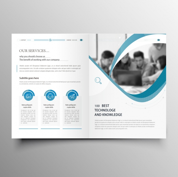 Professional Brochure Template from images.all-free-download.com