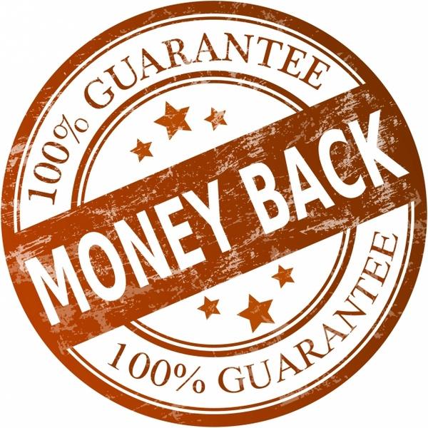 Money back guarantee Free vector in Adobe Illustrator ai ( .AI ...