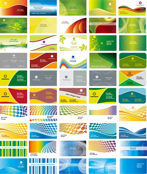 money card 50 business card background vector