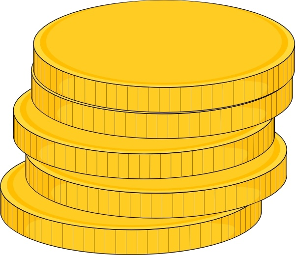 money stack of coins clip art free vector in open office drawing svg rh all free download com coin cliparts for children coin clipart black and white