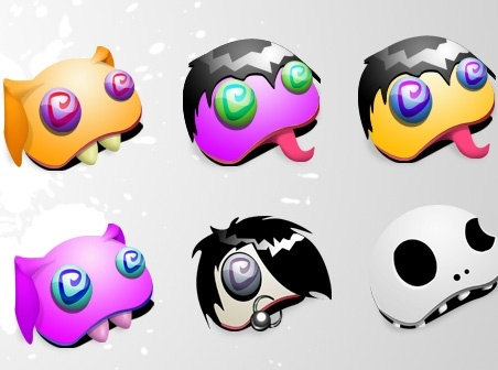 Monster icons icons pack