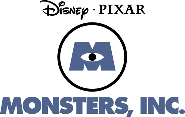 monsters inc free vector in encapsulated postscript eps ( .eps